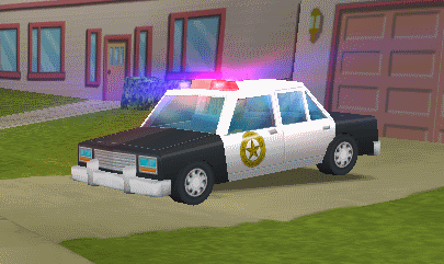 Police Car (Hit and Run)