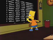 Another Simpsons Clip Show Gag