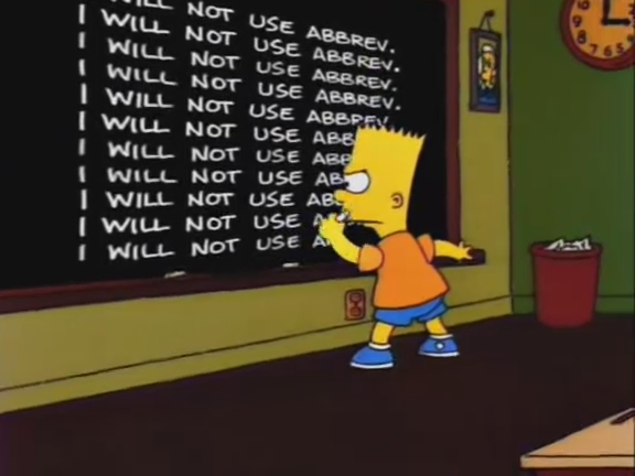 Another Simpsons Clip Show/Gags