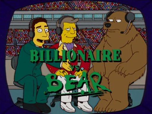 Billionaire vs. Bear