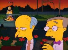 Homer manda burns se catar