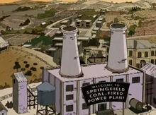 Springfield 1938 usina carvão