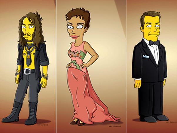 """Após Halle Berry, Russell Brand e o comediante Ricky Gervais também participaram de """"Os Simpsons"""""""