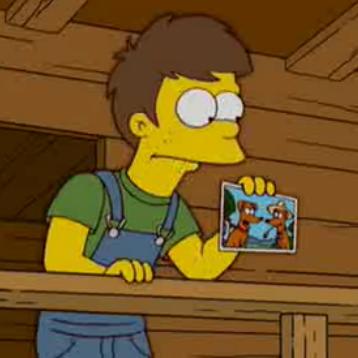 Homer's cousin's son