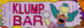 Krusty klump bar