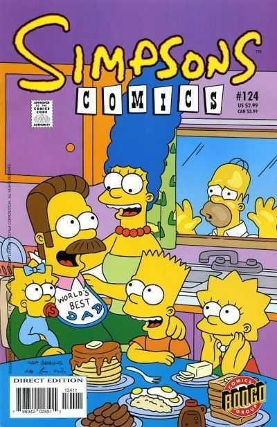 Simpsons Comics 124