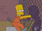 Gina Slashes Bart