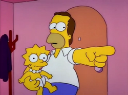 Homer holding baby Lisa.png