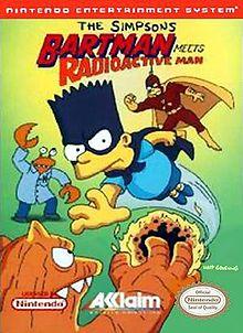 Bartman Meets Radioactive Man