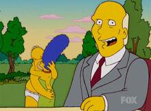 Homer marge pega bradshaw