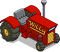 Willie's Tractor Tapped Out