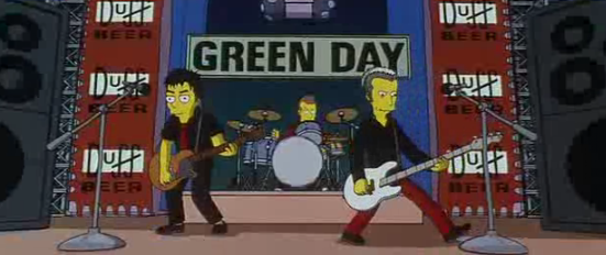 Green Day Simpsons Wiki Fandom