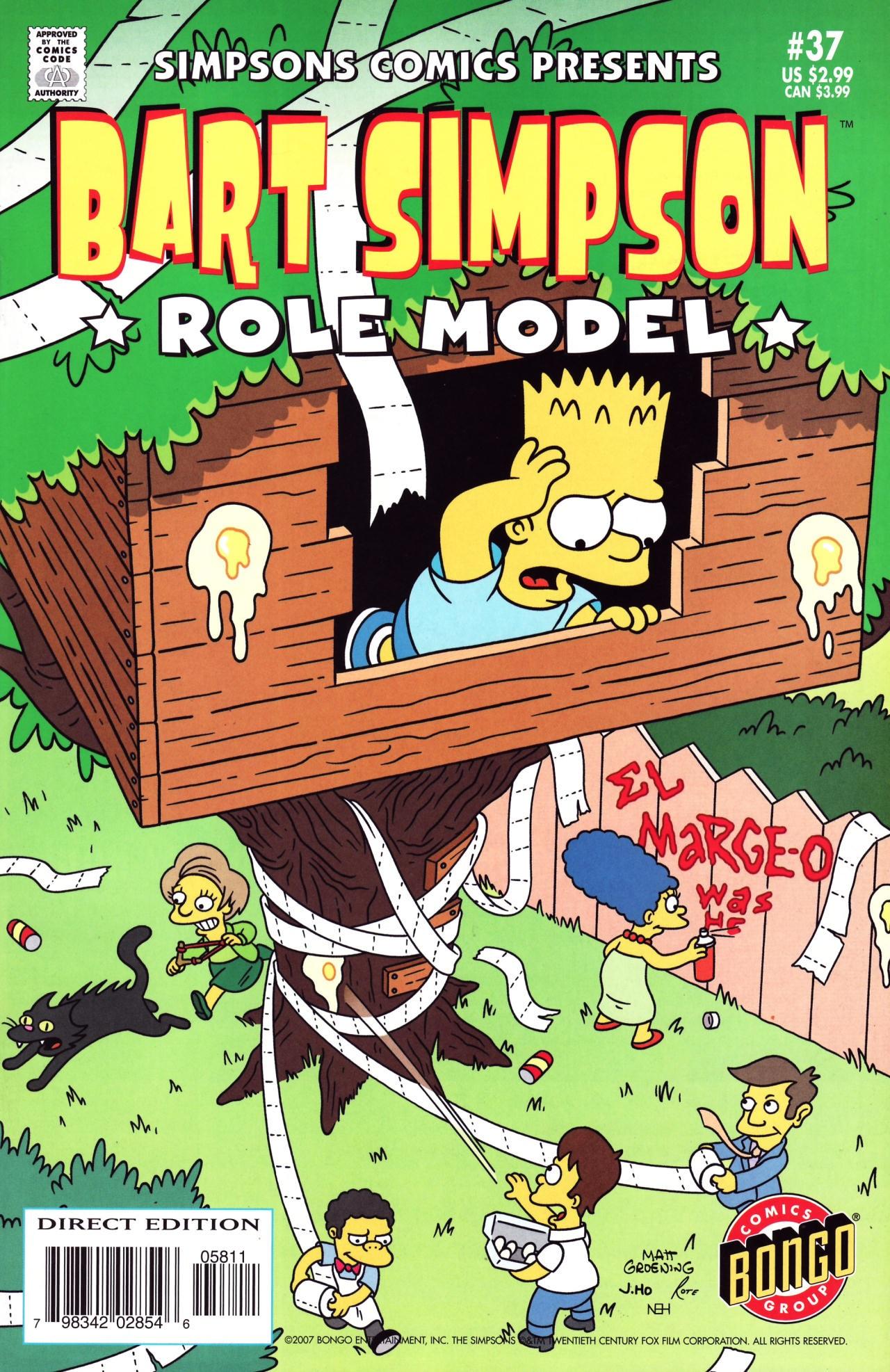 Bart Simpson Comics 37