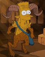 Bart as a Faun