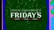1993 The Simpsons TGI Fridays Christmas Commercial