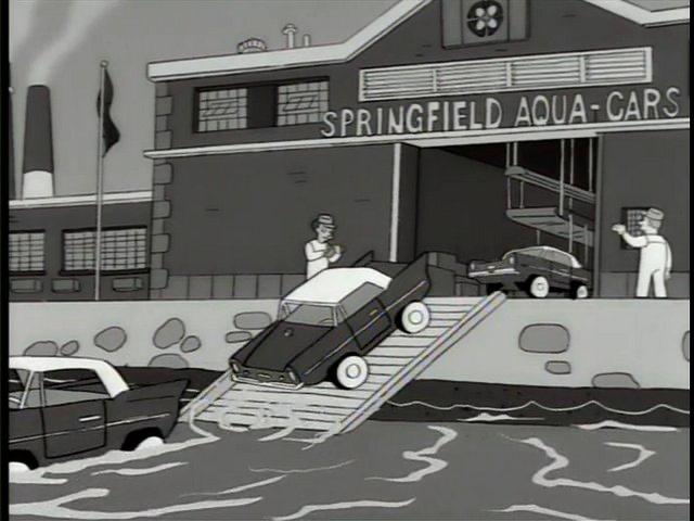 Springfield Aqua-Cars
