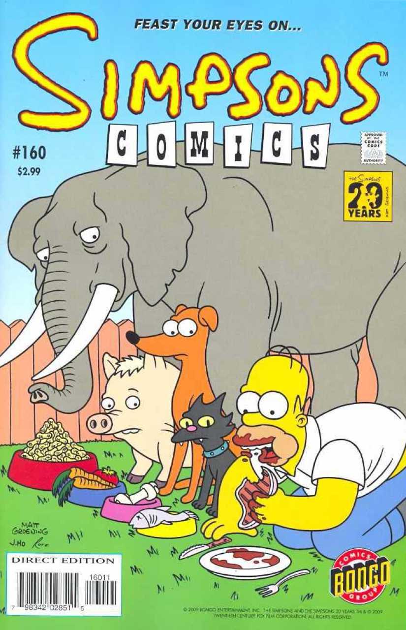 Simpsons Comics 160