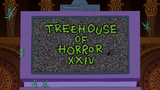 Treehouse of Horror XXIV - Title Card