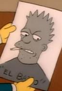 El Barto Caricature