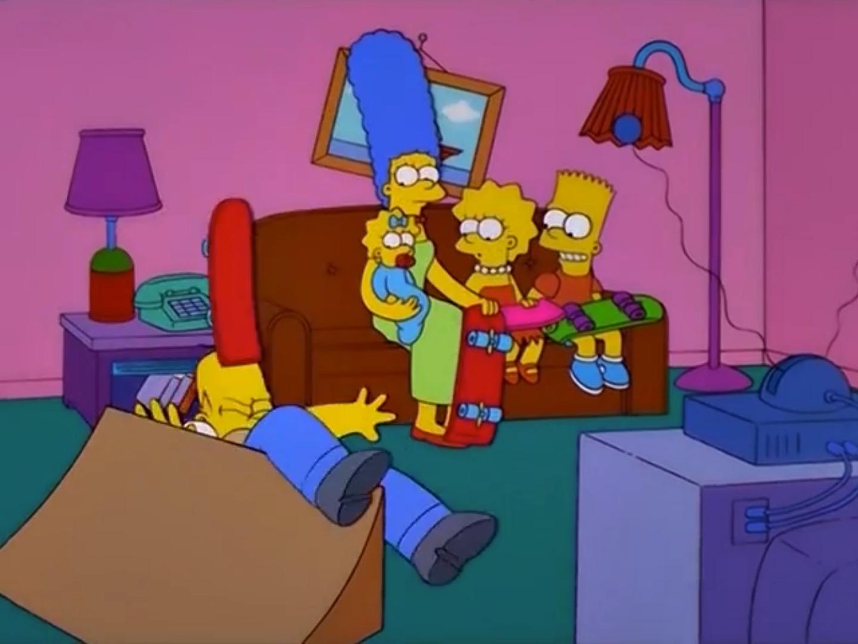 Skate Ramp Couch Gag Simpsons Wiki Fandom
