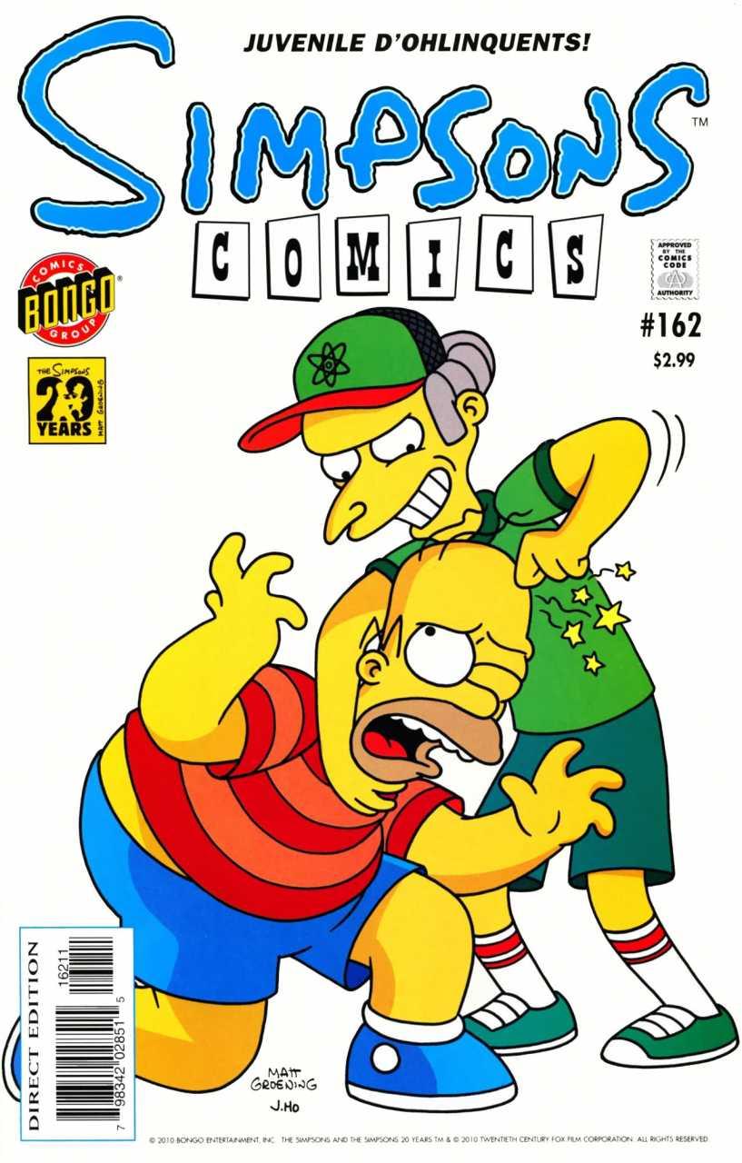 Simpsons Comics 162
