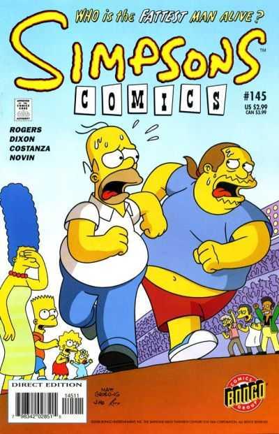 Simpsons Comics 145