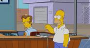 Homer meets Wayne