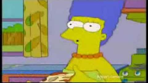 Simpsons Dominos Pizza