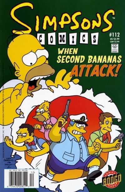 Simpsons Comics 112