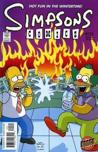 Simpsons Comics 115