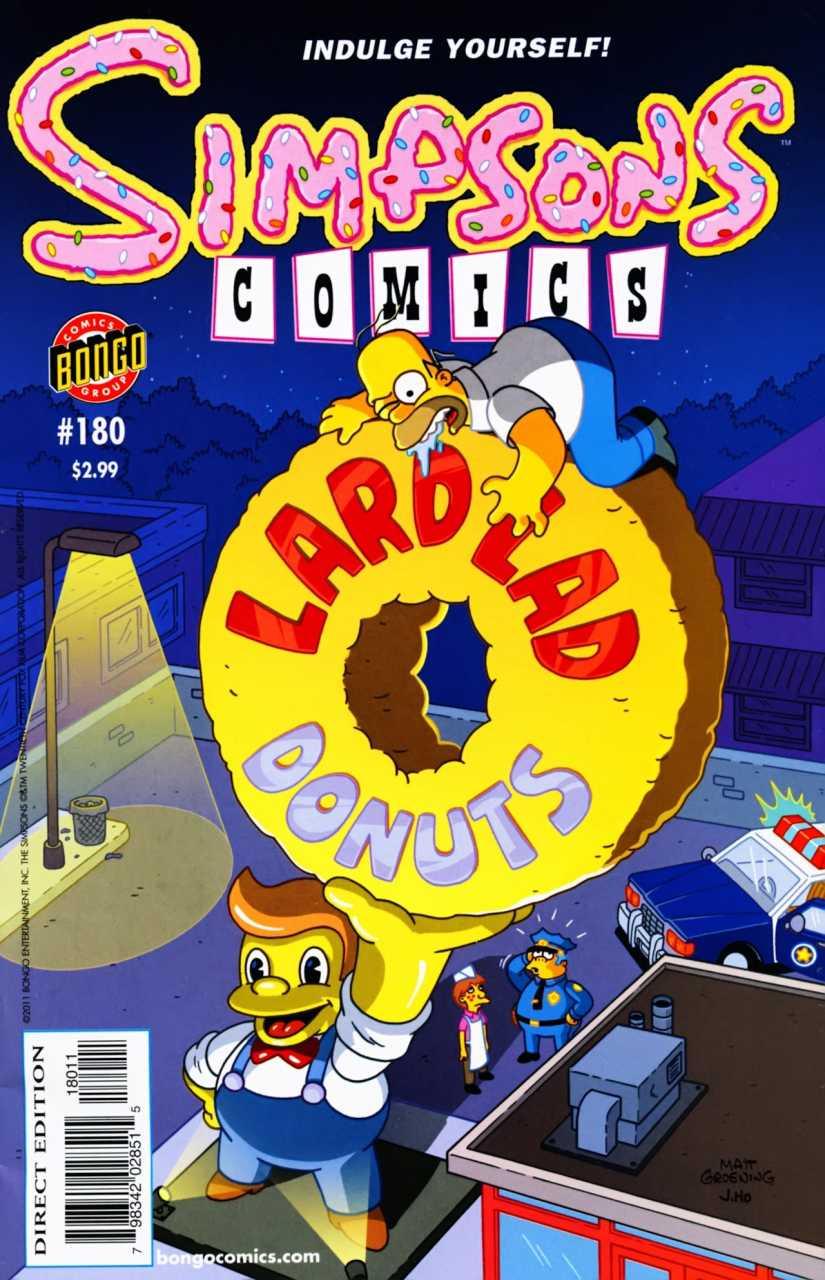 Simpsons Comics 180