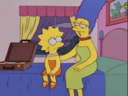 Marge comforts Lisa