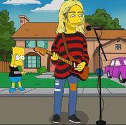 Kurt Cobain Simpsonized