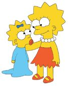 Maggie And Lisa Simpson