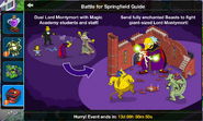 Battle for Springfield Guide