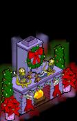 Rigellian Christmas Fireplace