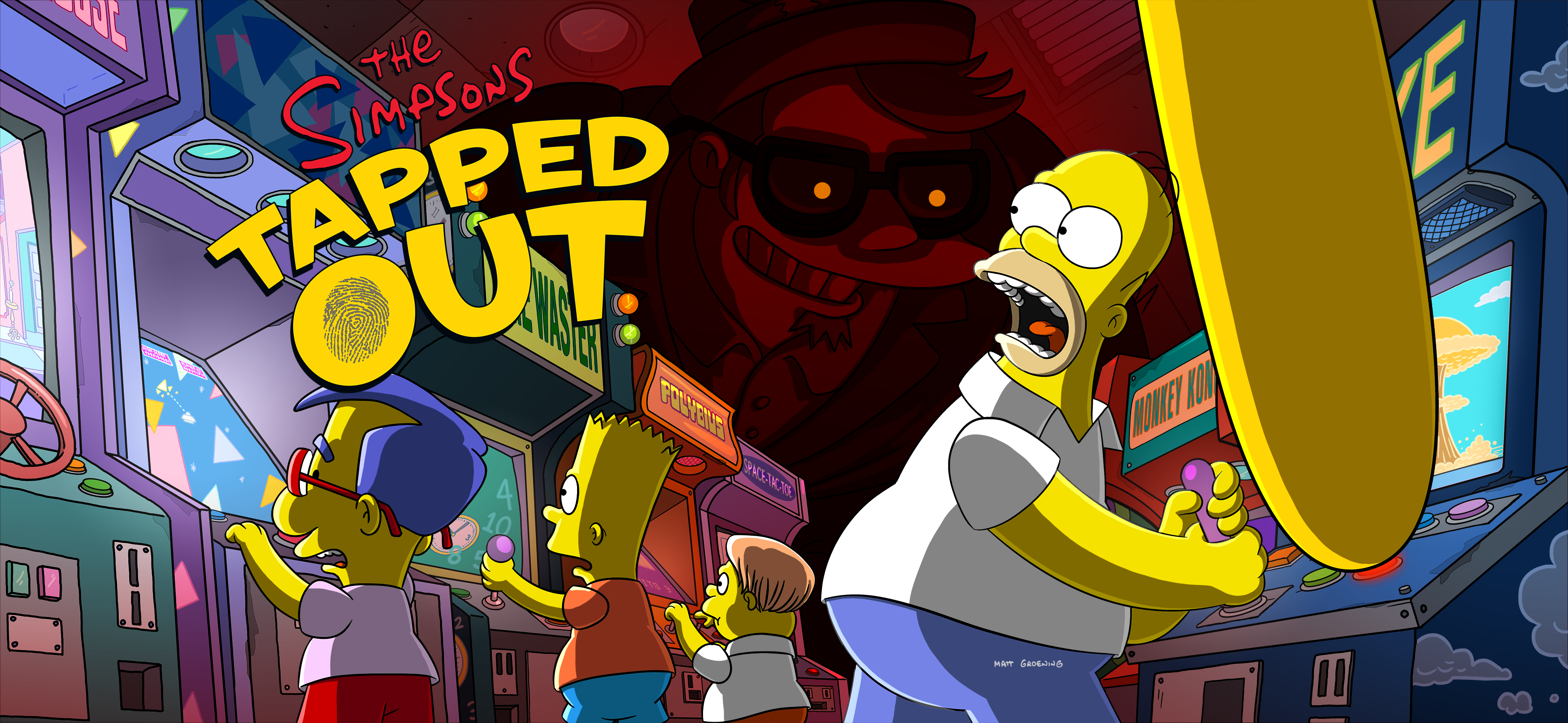 Tapped Out Halloween Event 2020 Cool Down Game of Games The Sequel 2020 Event | The Simpsons: Tapped Out