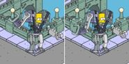 Cyborg Bart Experiencing System Malfunctions (2)