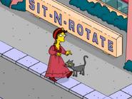 Fortune Teller Predicting Her Own Future - cat