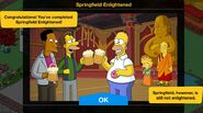 Springfield Enlightened 2021 Event End Screen