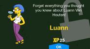 Luann unlock screen