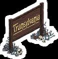 Transylvania Welcome Sign Sidebar