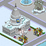 U.S. Capitol Building with event currency income