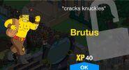 Brutus Unlock Screen