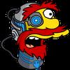 Cyborg Willie Surprised Icon