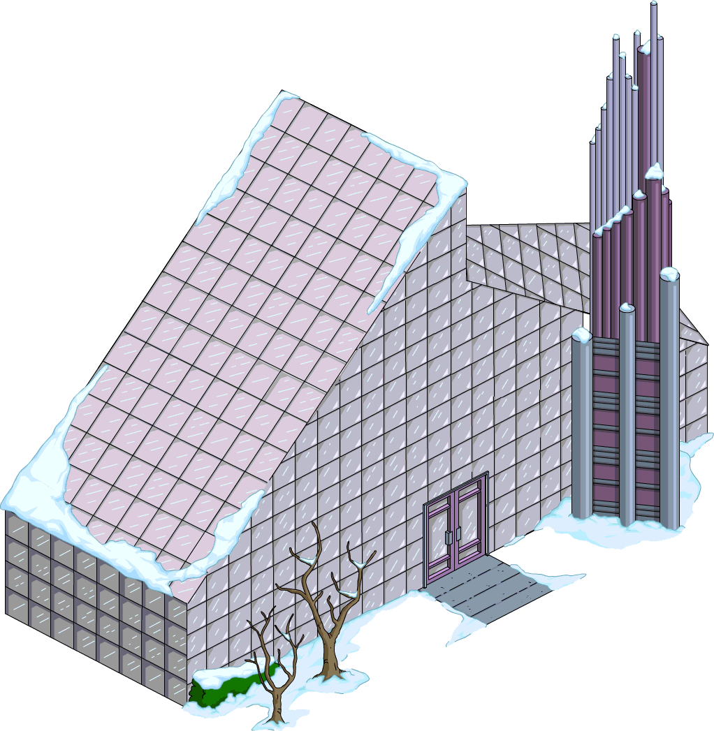 Cut-Glass Cathedral