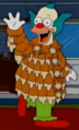 Coat of Foxes Krusty in the show