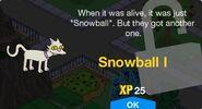Snowball I Unlock Screen
