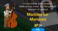 Marbles Le Marquez Unlock Screen