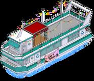 Sunset Cruise Boat Menu
